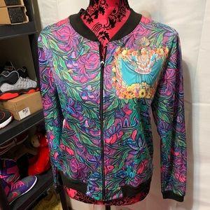 Sweaters - Frida Kahlo zip up jacket